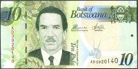 Botswana - (P 30) 10 Pula (2014) - UNC