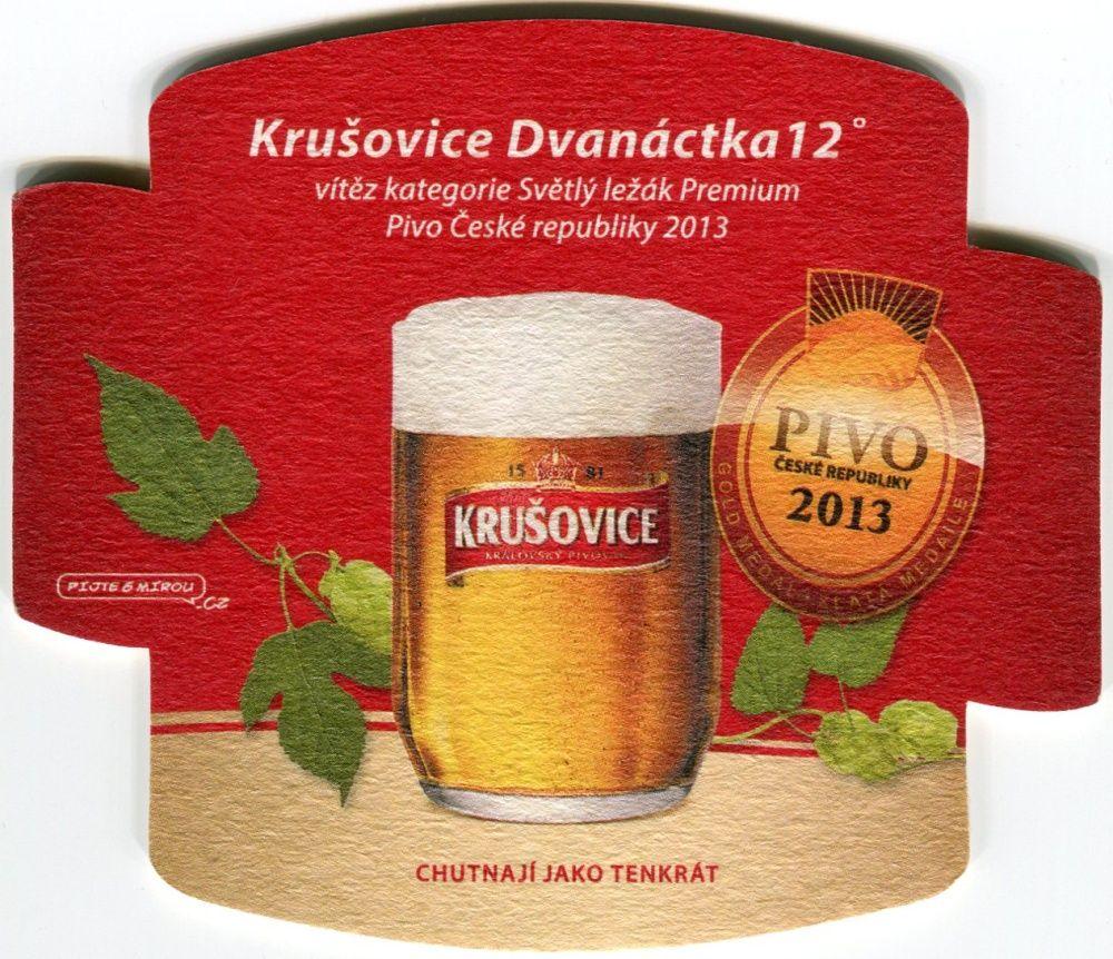 Krušovice - Královský pivovar - Krušovice Dvanáctka - Pivo 2013