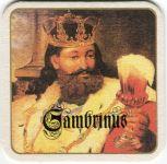 Plzeň - Gambrinus - bílý rámeček