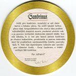 Plzeň - Gambrinus - zarovnané řádky