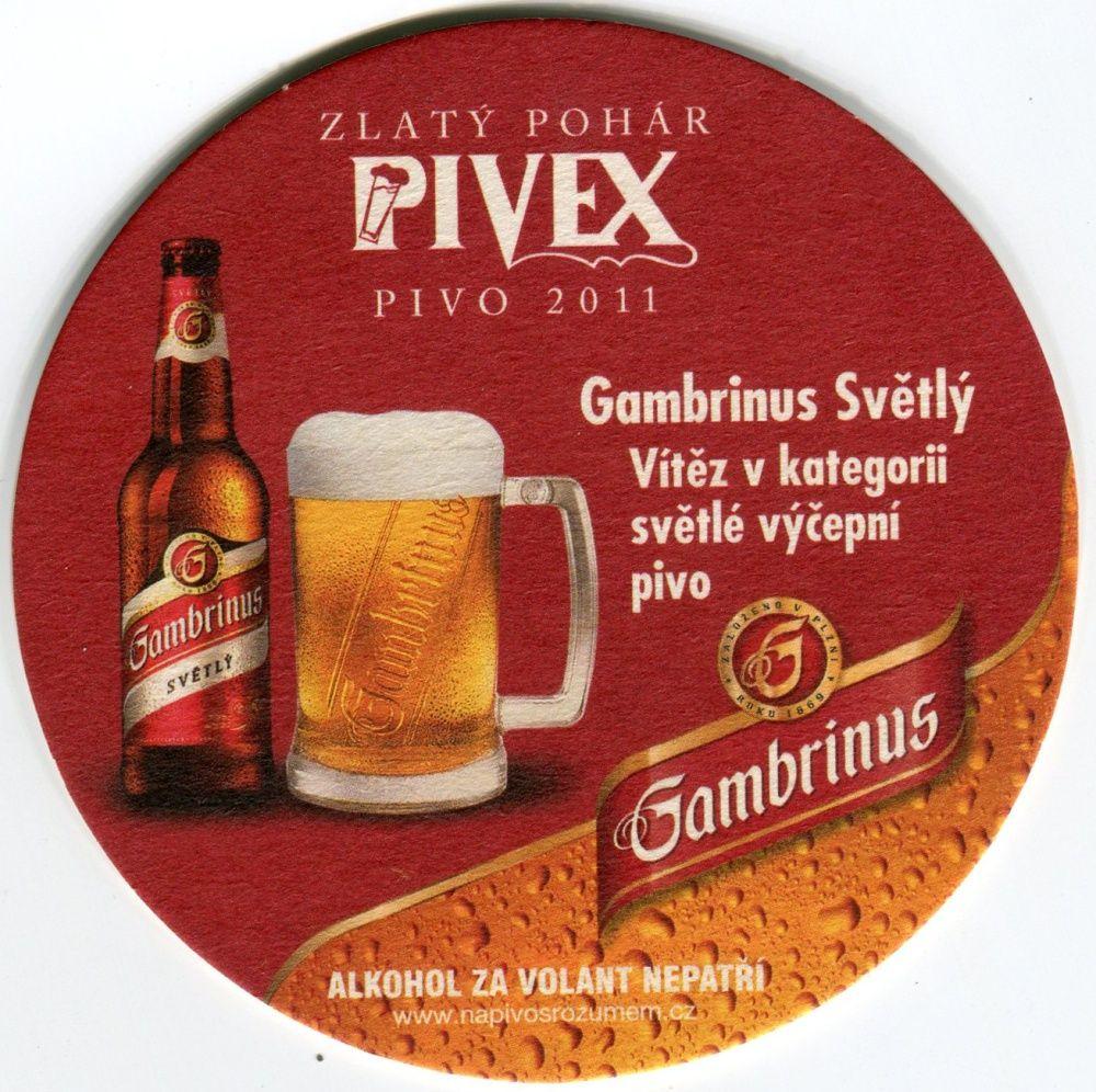 Plzeň - Gambrinus - Zlatý pohár Pivex Pivo 2011