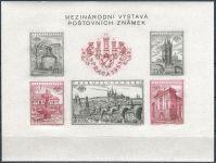 (1955) A 853 - 857 B ** - Československo - Výstava poštovních známek PRAGA