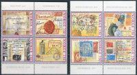 (1995) MiNr. 1189 - 1196 ** - Norsko - 2 x 4 -bl soutisk - 1195 I. typ - 350 let norské pošty (I)