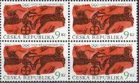 (2000) č. 269 ** - ČR - 4-bl - Antické Olympijské hry