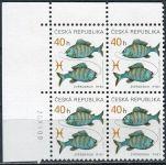 (2001) č. 282 ** - Česká republika - 4-bl - Znamení zvěrokruhu Ryby - D.T.