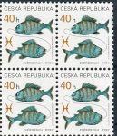 (2001) č. 282 ** - Česká republika - 4-bl - Znamení zvěrokruhu Ryby