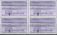 (2001) č. 290 ** - Česká republika - 4-bl - EUROPA České rybníkářství