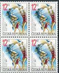(2001) č. 291 ** - Česká republika - 4-bl - ME ve volejbalu mužů