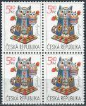 (2001) č. 295 ** - Česká republika - 4-bl - Gratulační známka