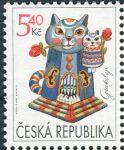 (2001) č. 295 ** - Česká republika - Gratulační známka
