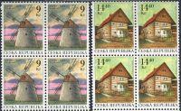 (2001) č. 306 - 307 ** - Česká republika - 4-bl - Technické památky Mlýny