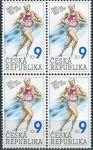 (2002) č. 332 ** - Česká republika - 4-bl - Emil Zátopek