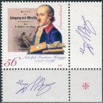 (2002) MiNr. 2241 ** - Německo - 250. narozeniny Adolfa Freihera von Kniggeho