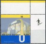 (2002) MiNr. 2242 ** - Německo - 100 let berlínského metra