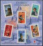 (2003) MiNr. 3730 - 3735 ** - Francie -  BLOCK 33 - Postavy z románů francouzských spisovatelů