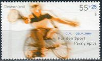 (2004) MiNr. 2384 ** - Německo - Letní paralympijské hry, Atény