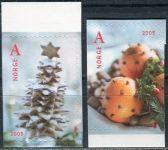 (2005) MiNr. 1558 - 1559 Di ** - Norsko - Vánoce