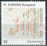 (2005) MiNr. 2470 ** - Německo - Kongres nejvyšších evropských kontrolních orgánů (EUROSAI)