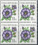(2006) č. 458 ** - Česká republika - 4-bl - Krása květů Ibišek