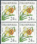 (2006) č. 466 ** - Česká republika - 4-bl - Krása květů Narcis