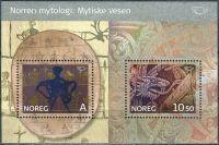 (2006) MiNr. 1570 - 1571 ** - Norsko - BLOCK 30 - Sever - severské mýty (II)