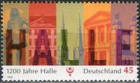(2006) MiNr. 2510 ** - Německo - 1200 let Halle