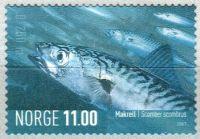 (2007) MiNr. 1616 ** - Norsko - Mořská zvířata (V)