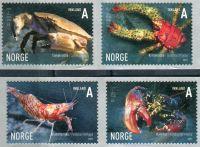 (2007) MiNr. 1625 - 1628 ** - Norsko - Mořská zvířata (VI)
