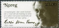 (2007) MiNr. 1629 ** - Norsko - 100. narozeniny Halldis Moren Vesaas