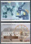 (2007) MiNr. 1630 - 1631 ** - Norsko - Věda: 250 let Bergseminar, Kongsberg; 150 let Akademie věd