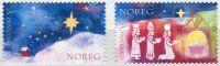 (2007) MiNr. 1633 - 1634 ** - Norsko - Vánoce