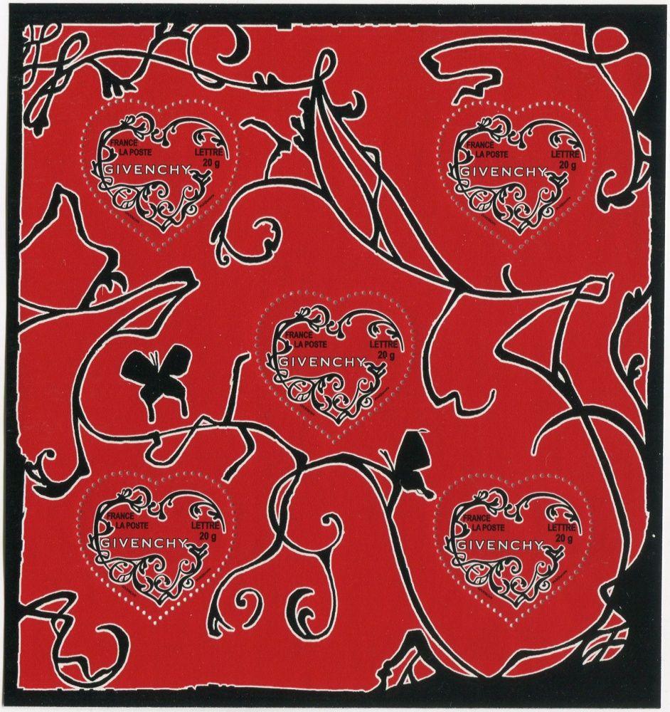 (2007) MiNr. 4196 ** - Francie - PL - Valentýn