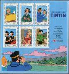 "(2007) MiNr. 4259 - 4264 ** - Francie -  BLOCK 78 - Série komiksů ""Tintin"""