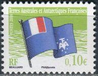 (2008) MiNr. 649 ** - Francouzská Antarktida - Vlajka
