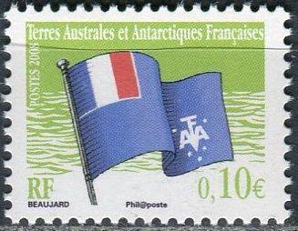 (2008) MiNr. 649 ** - TAAF - Vlajka