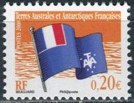 (2008) MiNr. 650 ** - Francouzská Antarktida - Vlajka