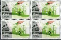 (2016) MiNr. 425 ** - Aland - 4-bl - Europa: Šetrnost vůči životnímu prostředí