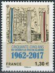 (2017) MiNr. 6703 ** - Francie - 55. výročí ukončení alžírské války