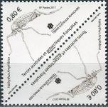 (2017) MiNr. 943 ** - Francouzská Antarktida - 2-bl - Bezkřídlý motýl