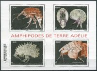 (2017) MiNr. 947 - 950 ** - Francouzská Antarktida - BLOCK 53 - Amphipodes