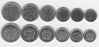 Brazílie - set 6 ks mincí (UNC)