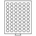 MB - box, na 54 mincí bez bublinek - průměr 26 mm