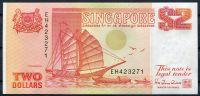 Singapur (P27) - 2 Dollars (1990) - UNC