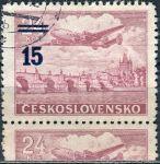 (1949) č. L 31b O - ČSSR - KD - Letecké zn. - přetisková provizoria