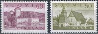 (1957) MiNr. 474 - 475 ** - Finsko - památky