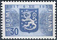 (1957) MiNr. 486 ** - Finsko - 40 let nezávislosti
