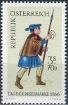 (1966) MiNr. 1229 ** - Rakousko - Den poštovní známky