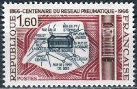 (1966) MiNr. 1563 ** - Francie - 100 let potrubní síťě v Paříži