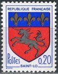 (1966) MiNr. 1570 x ** - Francie - Městský erb