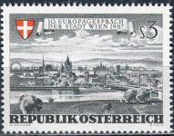 (1967) MiNr. 1241 ** - Rakousko - Evropa mluví o městě Vídeň
